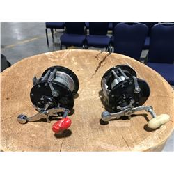 2 PENN LEVEL WIND FISHING REELS