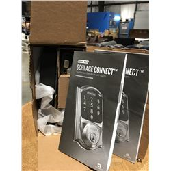 SCHLAGE TOUCH SCREEN DEAD BOLT WITH ALARM