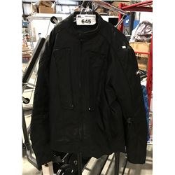 BILT BLACK MOTORCYCLE JACKET SIZE XL