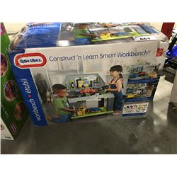 LITTLE TYKES  CONSTRUCT 'N' LEARN SMART WORK BENCH