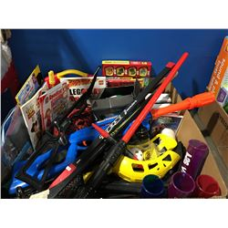 GROUP LOT OF ASSORTED KIDS TOYS & GAMES