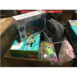BOX FULL OF ASSORTED BABY ITEMS