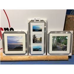 3 FRAMED WEST COAST ART PHOTOS