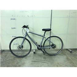 GREY NORCO INDIE 24 SPEED, FULL DISC BRAKE MOUNTAIN BIKE