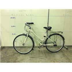 WHITE SCHWINN GATEWAY 21 SPEED CRUISER BIKE