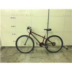 RED KONA FIRE MOUNTAIN 24 SPEED MOUNTAIN BIKE