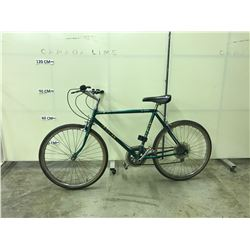GREEN RALEIGH SUMMIT 10 SPEED MOUNTAIN BIKE