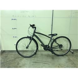 GREY NORCO RIDEAU 24 SPEED HYBRID BIKE