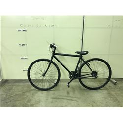 BLACK NO-NAME 21 SPEED ROAD BIKE