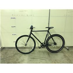 BLACK NO-NAME SINGLE SPEED ROAD BIKE
