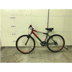 RED FS250 21 SPEED FRONT SUSPENSION MOUNTAIN BIKE