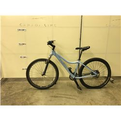 BLUE TREK CALIS 27 SPEED, FRONT SUSPENSION, REAR DISC BRAKE MOUNTAIN BIKE