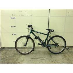 GREEN KONA FIRE MOUNTAIN 24 SPEED, FRONT SUSPENSION MOUNTAIN BIKE