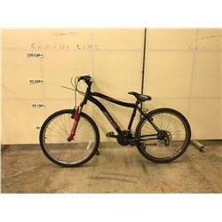 BLACK SCHWINN SUSPEND 24 SPEED FRONT SUSPENSION MOUNTAIN BIKE