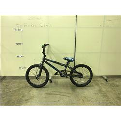 GREY CLUCH FS SINGLE SPEED BMX BIKE
