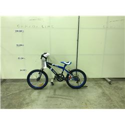 BLACK AND BLUE ROSS RILEY 5 SPEED KIDS BIKE