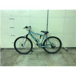 MINT GREEN REEBOK OREGON WITH 21 SPEED FRONT SUSPENSION MOUNTAIN BIKE