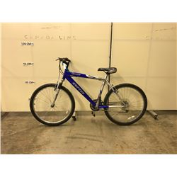 BLUE CARRERA GRIFTER SHIMANO 21 SPEED FRONT SUSPENSION MOUNTAIN BIKE