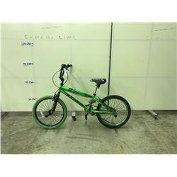 GREEN AVIGO DEADHEAD SINGLE SPEED BMX BIKE
