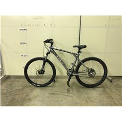 GREY GT AVALANCHE 21 SPEED FRONT SUSPENSION FULL DISC BRAKES MOUNTAIN BIKE