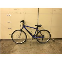BLUE INFINITY 21 SPEED FRONT SUSPENSION MOUNTAIN BIKE
