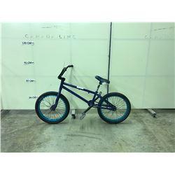 BLUE NO NAME SINGLE SPEED BMX BIKE