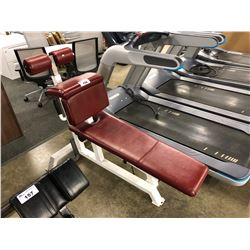 ATLANTIS RED ADJUSTABLE AB CURL BENCH