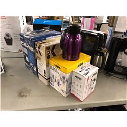 LOT OF ASSORTED COFFEE MAKERS & KETTLES