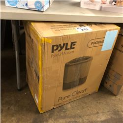 PYLE PURE CLEAN TWIN TUB WASHING MACHINE