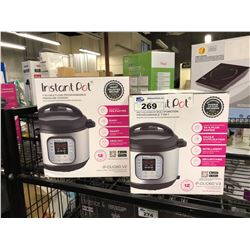 LOT OF 2 INSTANT POT PRESSURE COOKERS