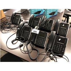7 POLYCOM HD IP PHONE HANDSETS