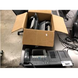 CISCO PHONE HANDSETS WITH EXPANSION MODULES
