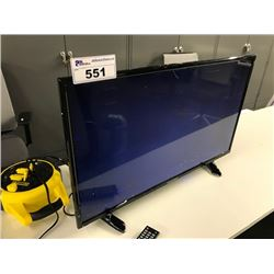 SYLVANIA FLATSCREEN TV, DAMAGED