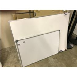 3' X 3' AND 2' X 3' WHITE BOARDS