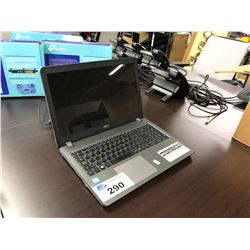 ACER ASPIRE F 15 NOTEBOOK COMPUTER WITH INTEL CORE I5 CPU, NO HDD/SSD