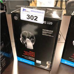 SENNHEISER RS 120 WIRELESS HEADPHONES