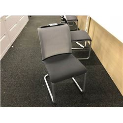 STEELCASE REPLY MESH BACK SLED BASE CLIENT CHAIR