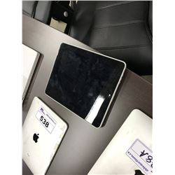 APPLE IPAD, WI-FI 16 GB, ICLOUD/PASSCODE LOCK STATUS UNKNOWN, AS-IS