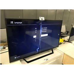 SONY FLATSCREEN TV, DAMAGED