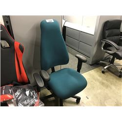 GREEN OBUS FORME HIGH BACK TASK CHAIR