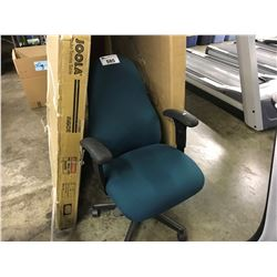 GREEN OBUS FORME MID BACK TASK CHAIR
