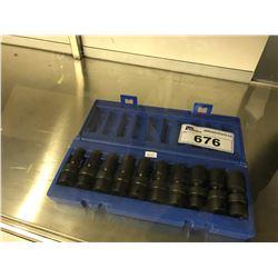 GP 1210USMD 3/8 DR. - 6 PT. METRIC SOCKET SET