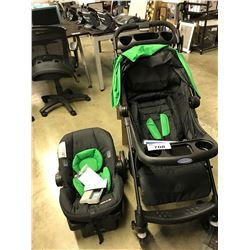 GRACO VERB TRAVEL SYSTEM WITH CAR SEAT