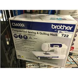 BROTHER CS6000I COMPUTERIZED SEWING & QUILTING MACHINE