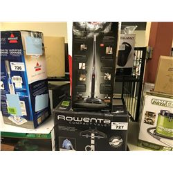 ROWENTA COMPACT VALET VACUUM AND HOOVER CYCLONIC STICK VACUUM