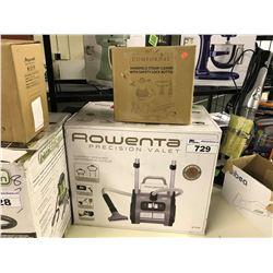 ROWENTA VALET VACUUM AND HANDHELD STEAM CLEANER