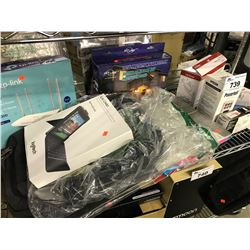 LOT OF HOUSEHOLD ELECTRONICS