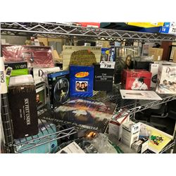 LOT OF HOUSEHOLD ELECTRONICS, VIDEO GAMES AND MORE