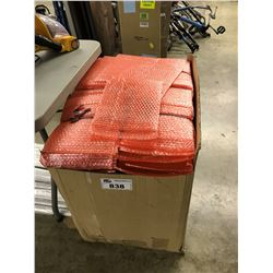 LARGE QUANTITY OF BUBBLE PACKAGING SLEEVES