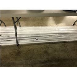 LARGE QUANTITY OF METAL FRAME POSTS